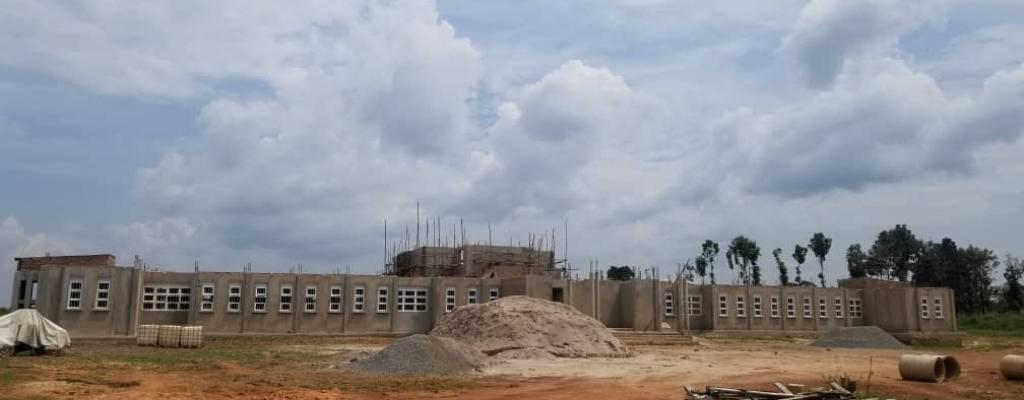 Construction of Kwania's administration block